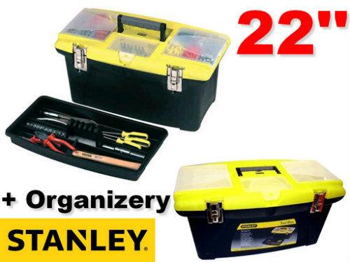 """Skrzynia narzędziowa JUMBO + Organizer 22"""" STANLEY (92-908)"""