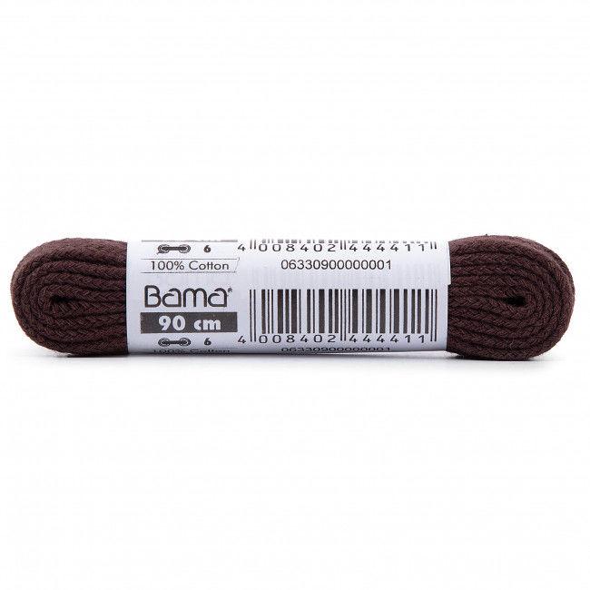 Sznurówki do obuwia BAMA - FE90 Brown 033