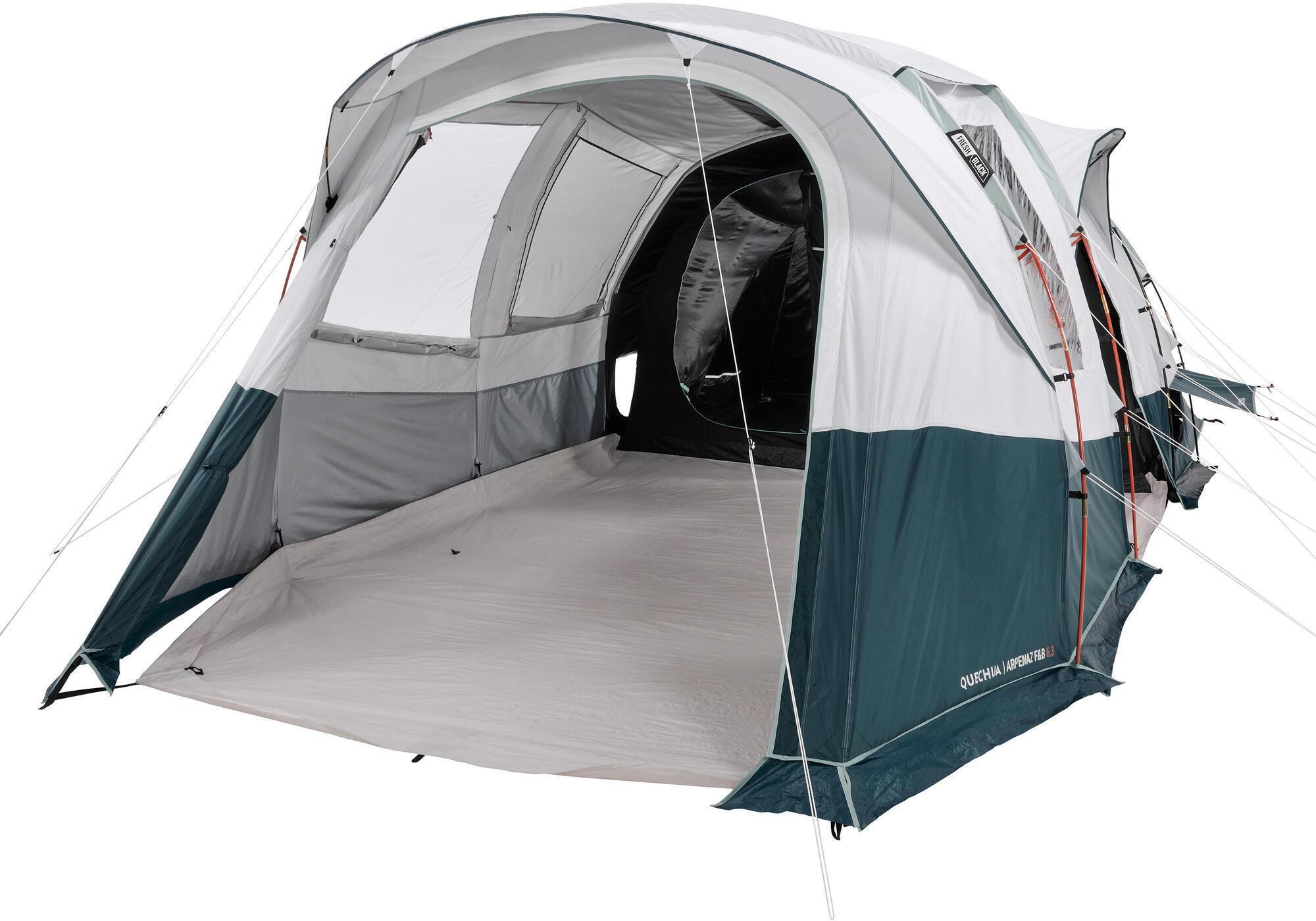Namiot kempingowy Arpenaz 6.3 F&B -6-osobowy, -3 sypialnie