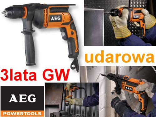 Wiertarka udarowa 600W AEG SBE 600 R