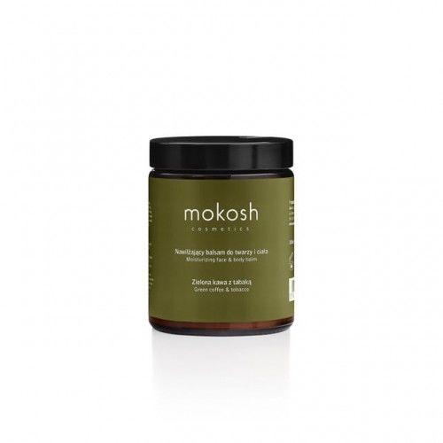 Nawilżający balsam do twarzy i ciała Zielona kawa z tabaką 180ml Mokosh