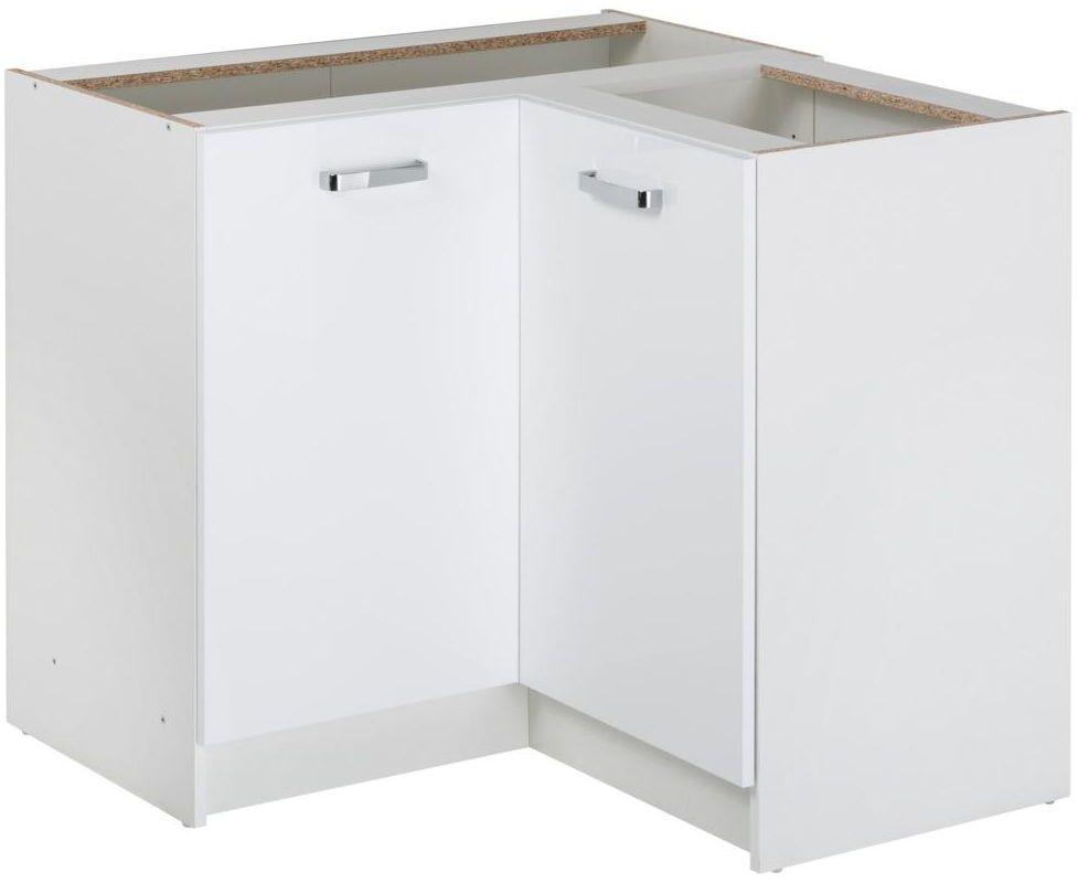 Szafka kuchenna stojąca First 90 cm kolor biały