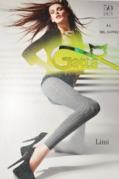 LIMI - Legginsy melanżowe 50 DEN