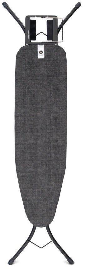 Brabantia - deska do prasowania rozmiar 110 x 30 cm, rama czarna 22mm - denim black
