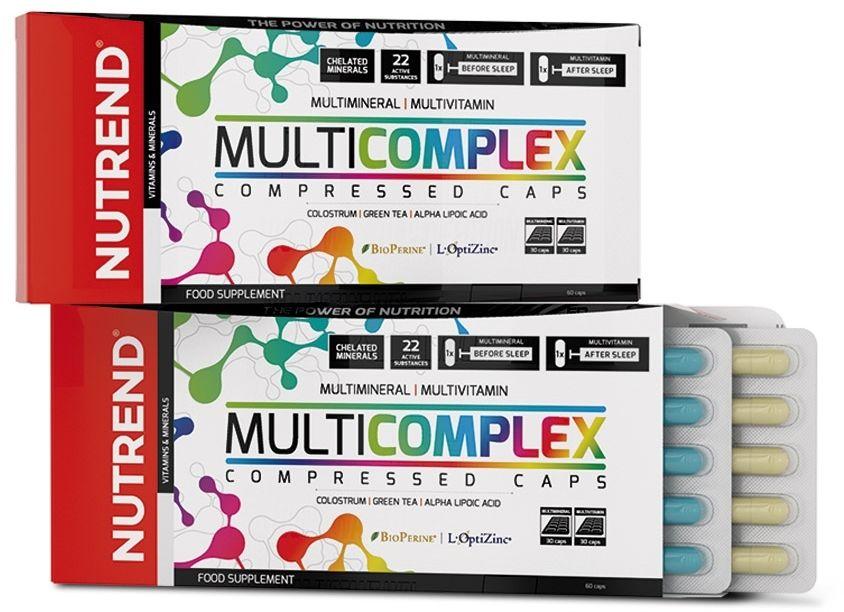 Nutrend Multivitamin Compressed 60kaps.