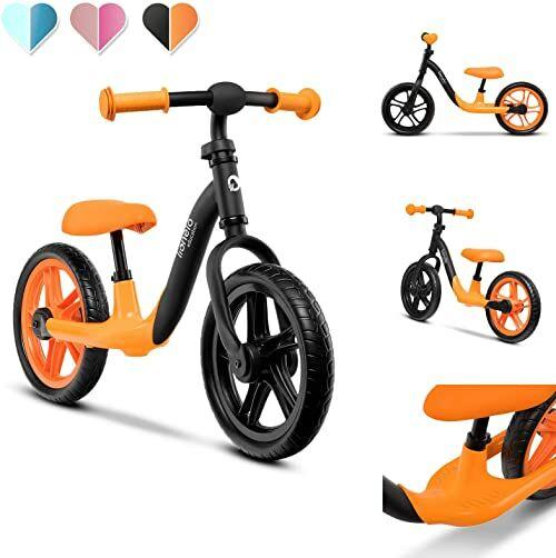 LIONELO Alex rowerek biegowy do 30kg, piankowe koła EVA, ochraniacz na kierownicy, wyprofilowany podnóżek, antypoślizgowe nakładki, możliwość regulacji, miękka struktura