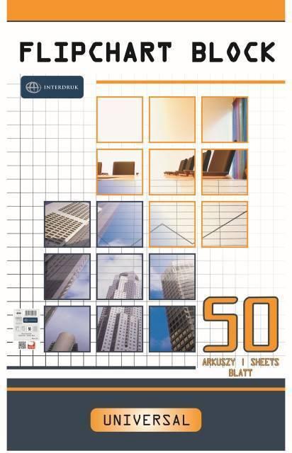 Blok do flipchartu 64x100cm kratka (50) - X06230