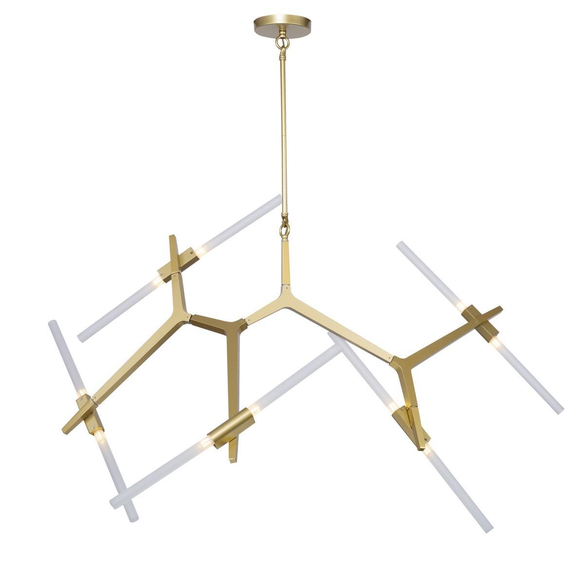 Lampa wisząca STICKS-10 złota ST-1001-10 gold - Step into design Do -17% rabatu w koszyku i darmowa dostawa od 299zł !