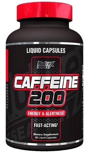 Nutrex Caffeine 200 60 kaps.