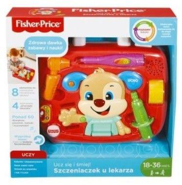 Fisher Price - Szczeniaczek u lekarza PL FPR00