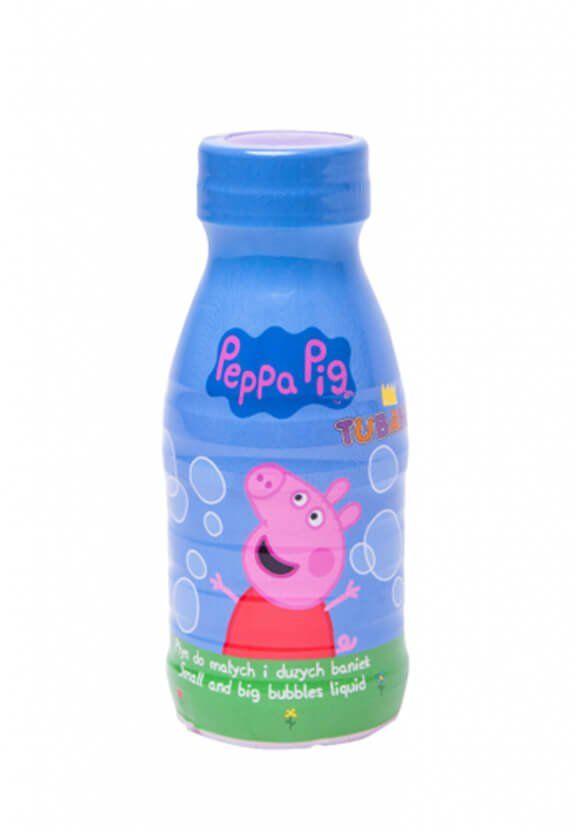 Płyn do baniek mydlanych Świnka Peppa - 0,25l - 1 szt.