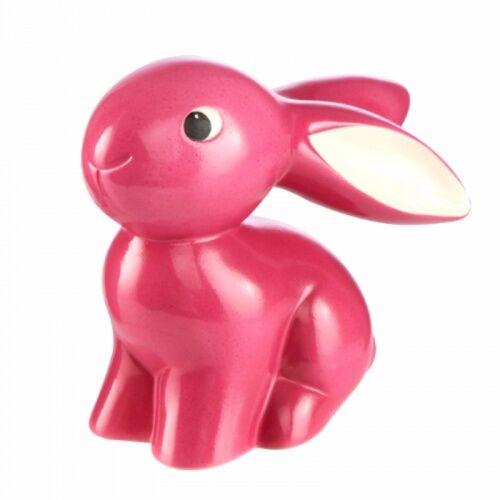 Figurka Bunny de luxe Pink Cute Bunny Goebel