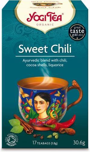Herbatka SŁODKIE CHILI BIO (17 x 1,8 g) Yogi Tea