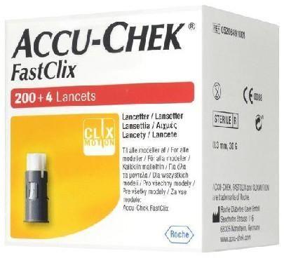 Accu-Chek Fastclix lancety (igły) 204 sztuki