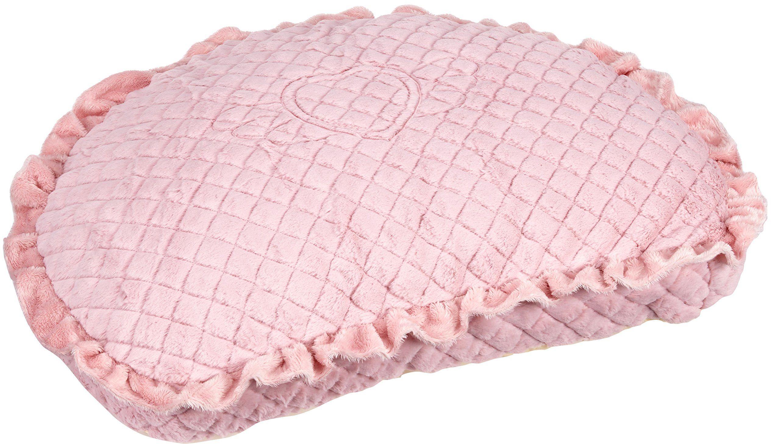 Pinkaholic New York Poduszka anioł łóżko dla psa, różowe