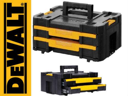 Skrzynia Walizka narzędziowa TSTAK IV z 2 szufladami DEWALT DWST1-70706