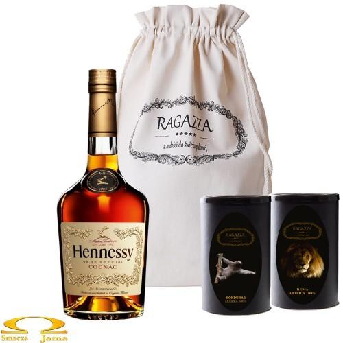 Zestaw Kaw Ragazza+ Hennessy VS 0,5l