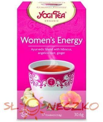Herbatka DLA KOBIET - ENERGIA BIO (17 x 1,8 g) Yogi Tea