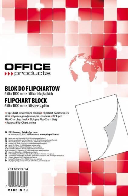 Blok do flipchartu 65x100cm kratka (20) - X06231