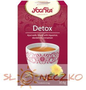 Herbatka DETOX BIO (17 x 1,8 g) Yogi Tea