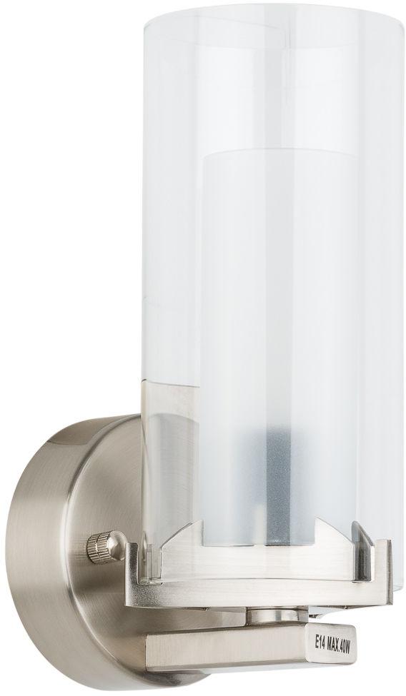 Italux kinkiet lampa ścienna Terni MB0118-1 szkło