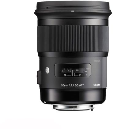 Obiektyw Sigma 50mm F1.4 ART DG HSM Sony E - RATY 10X0%