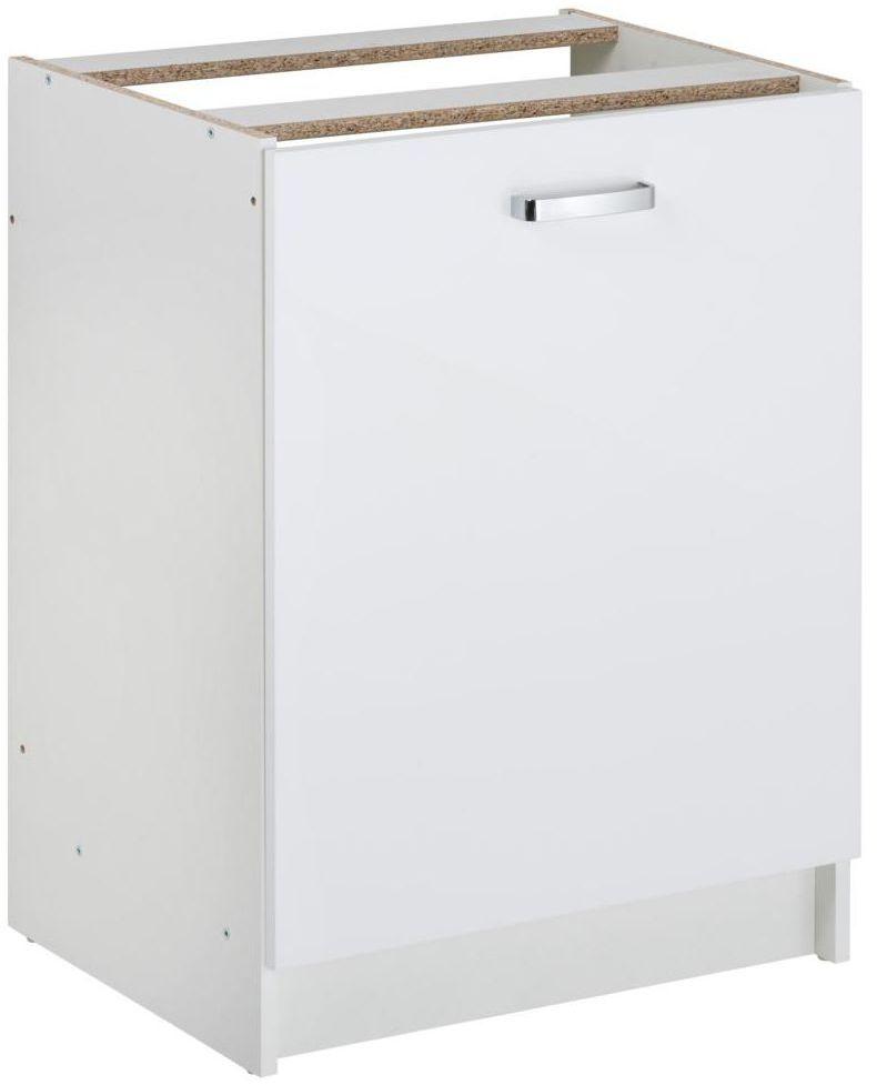 Szafka kuchenna stojąca First 60 cm kolor biały