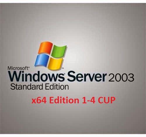 Microsoft Windows Server 2003 Standard x64 Edition English