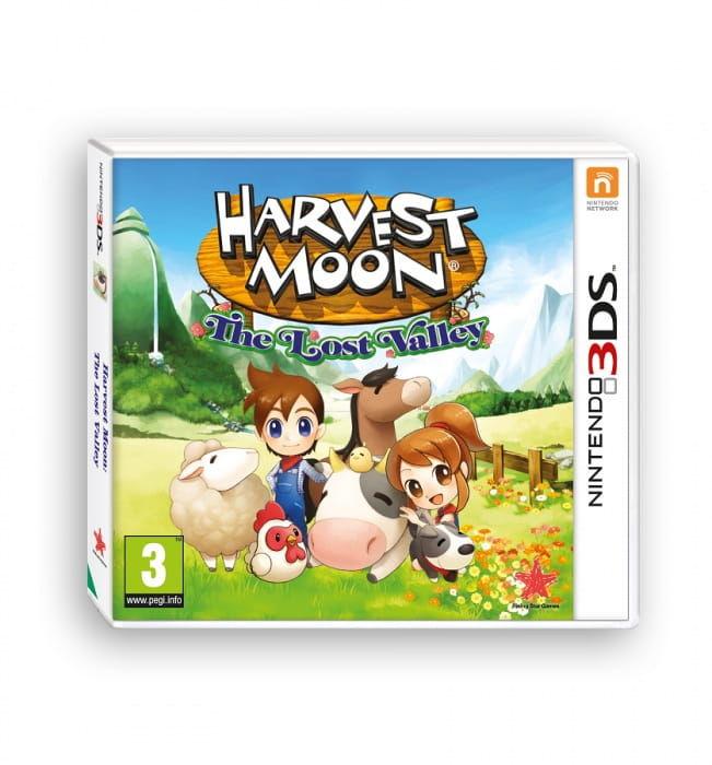 Gra Harvest Moon: The Lost Valley (Nintendo 3DS)