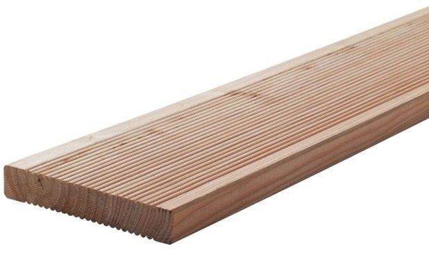 Deska tarasowa drewniana Blooma 2500 x 140 x 24 mm modrzew europejski