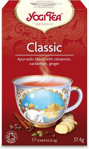 Herbatka KLASYCZNA BIO (17 x 2,2 g) Yogi Tea
