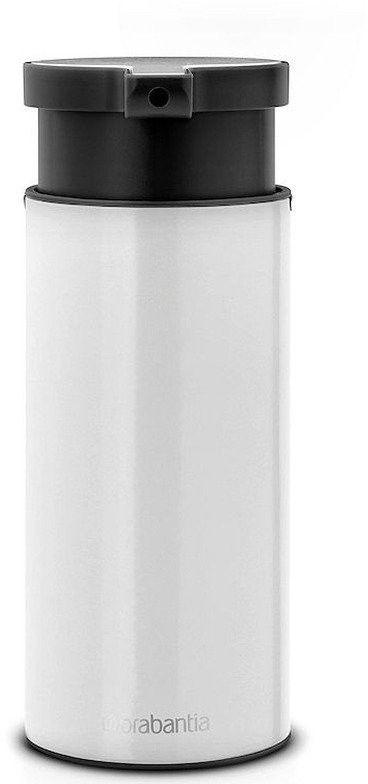 Brabantia - dozownik do mydła w płynie - biały - biały
