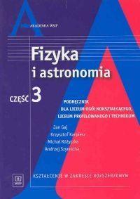Fizyka i astronomia Część 3 Podręcznik