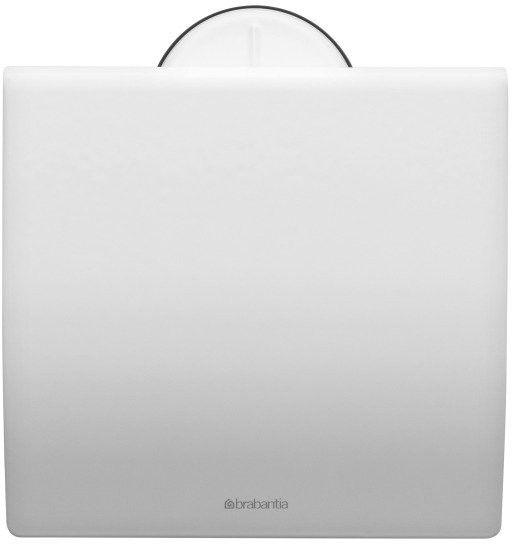 Brabantia - uchwyt na papier toaletowy - biały - biały