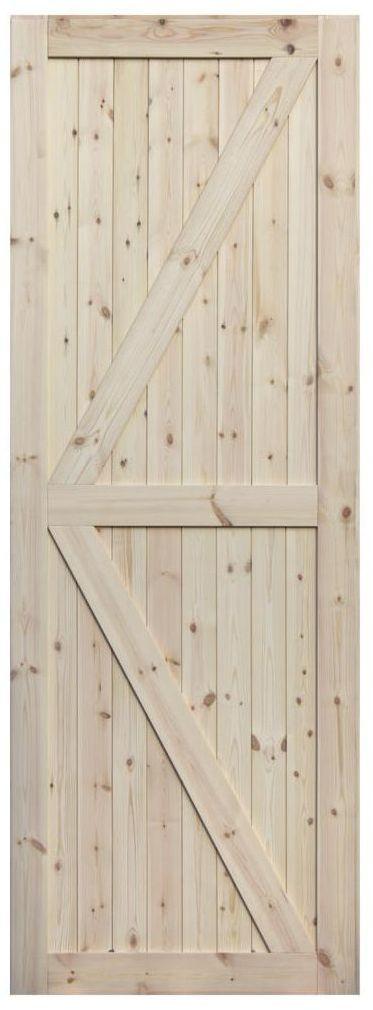 Skrzydło przesuwne drewniane Loft II 60 Radex