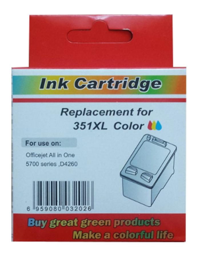 zastępczy atrament HP 351XL [cb338ee] color 100% nowy
