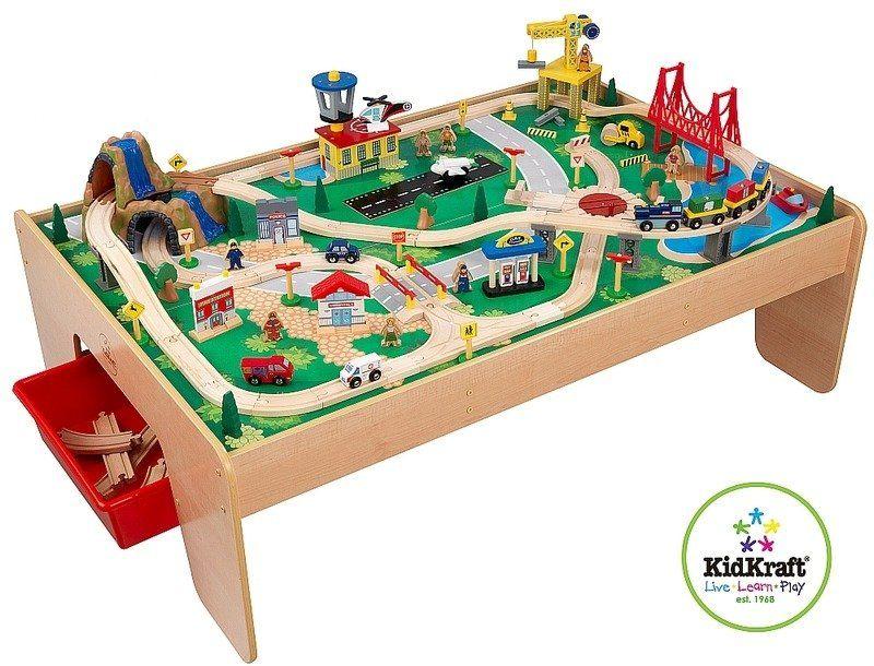 Wodospad w górach - kolejka dla dziecka, KidKraft - kolejki drewniane