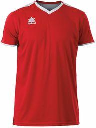 Luanvi Męski T-shirt Match z krótkimi rękawami. czerwony czerwony XL