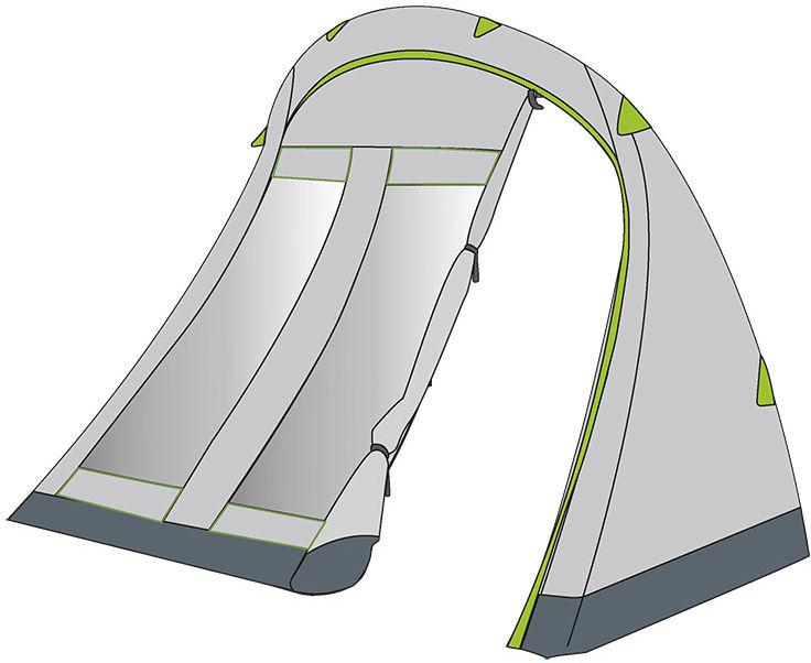 Przedsionek Coleman do namiotów 6-osobowych (2000037079) ST