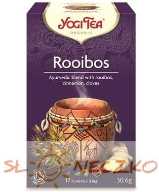 Herbatka ROOIBOS BIO (17 x 1,8 g) Yogi Tea