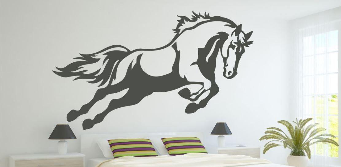 Naklejka Koń w biegu
