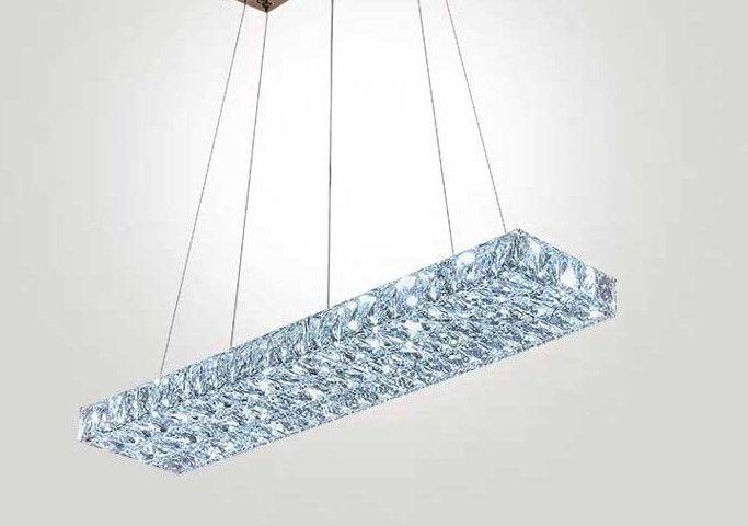 Lampa kryształowa nad stół - 80cm 48watt - K227