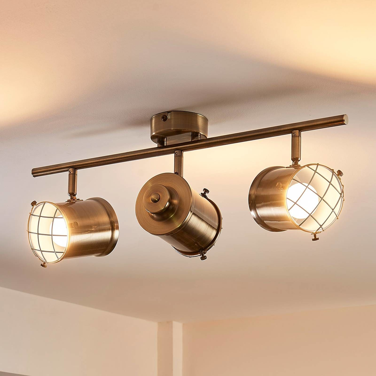 3-punktowa lampa sufitowa easydim Ebbi z LED
