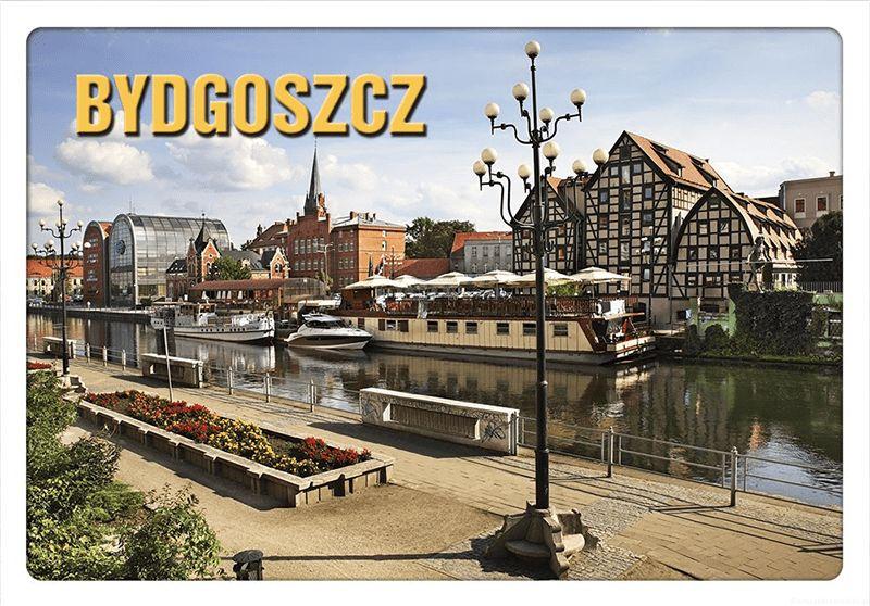 Pocztówka 3D Bydgoszcz