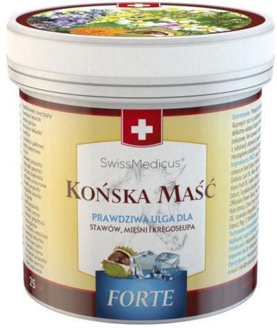 SwissMedicus Końska maść Forte chłodząca 250 ml