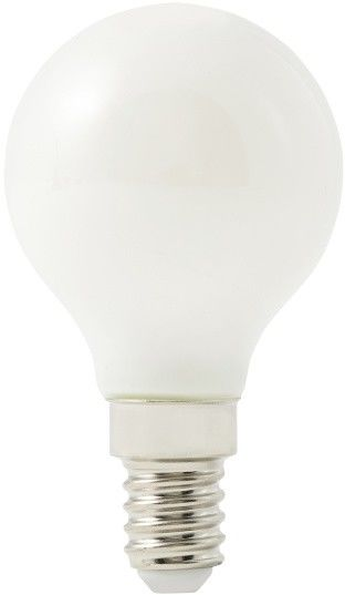 Żarówka LED Diall G45 E14 4,9 W 470 lm mleczna barwa neutralna