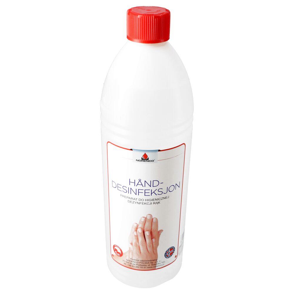Preparat do higienicznej dezynfekcji rąk - HAND DESINFEKSJON 1L
