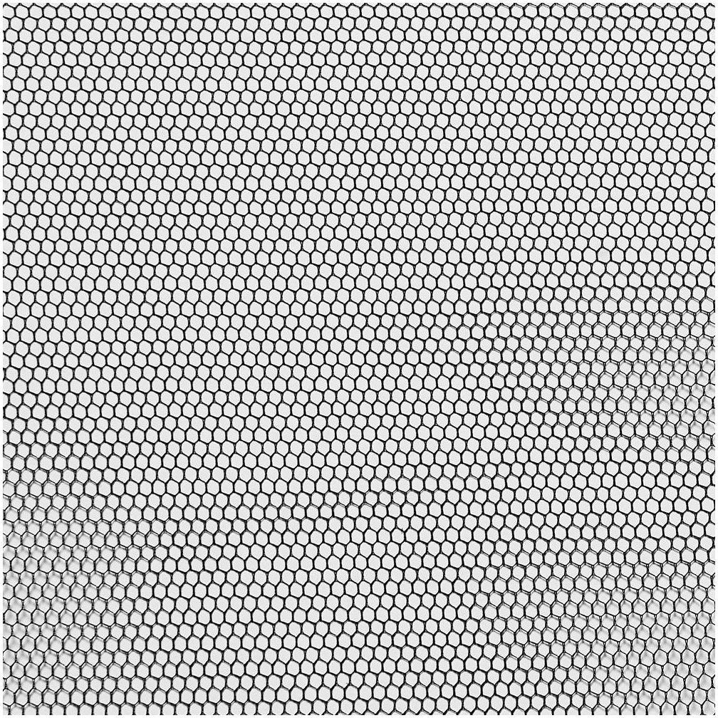 Moskitiera na okno 150x180 cm Czarna