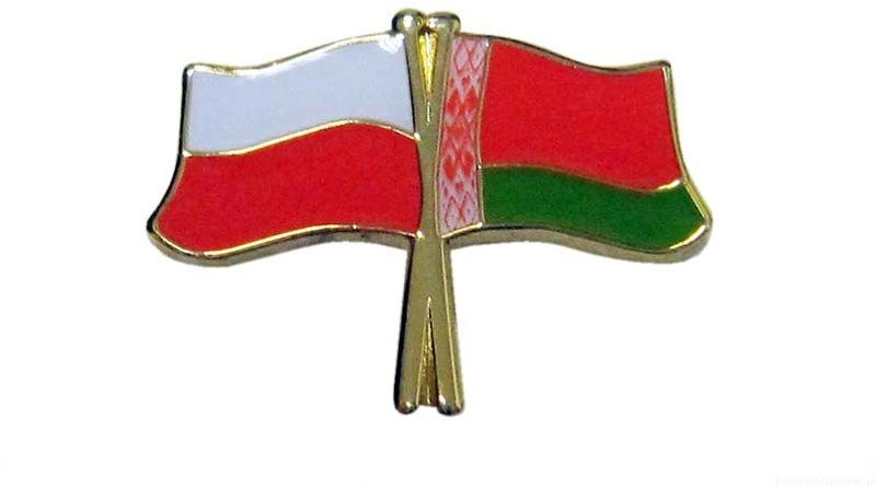 Flaga Polska - Białoruś