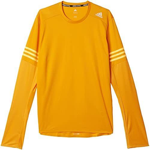 Adidas Męska koszulka z długim rękawem RS Pomarańczowy/Eqtnar/Dorsol M